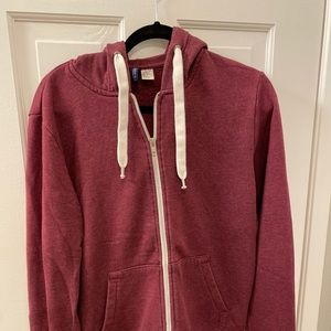 Maroon jacket from H&M.